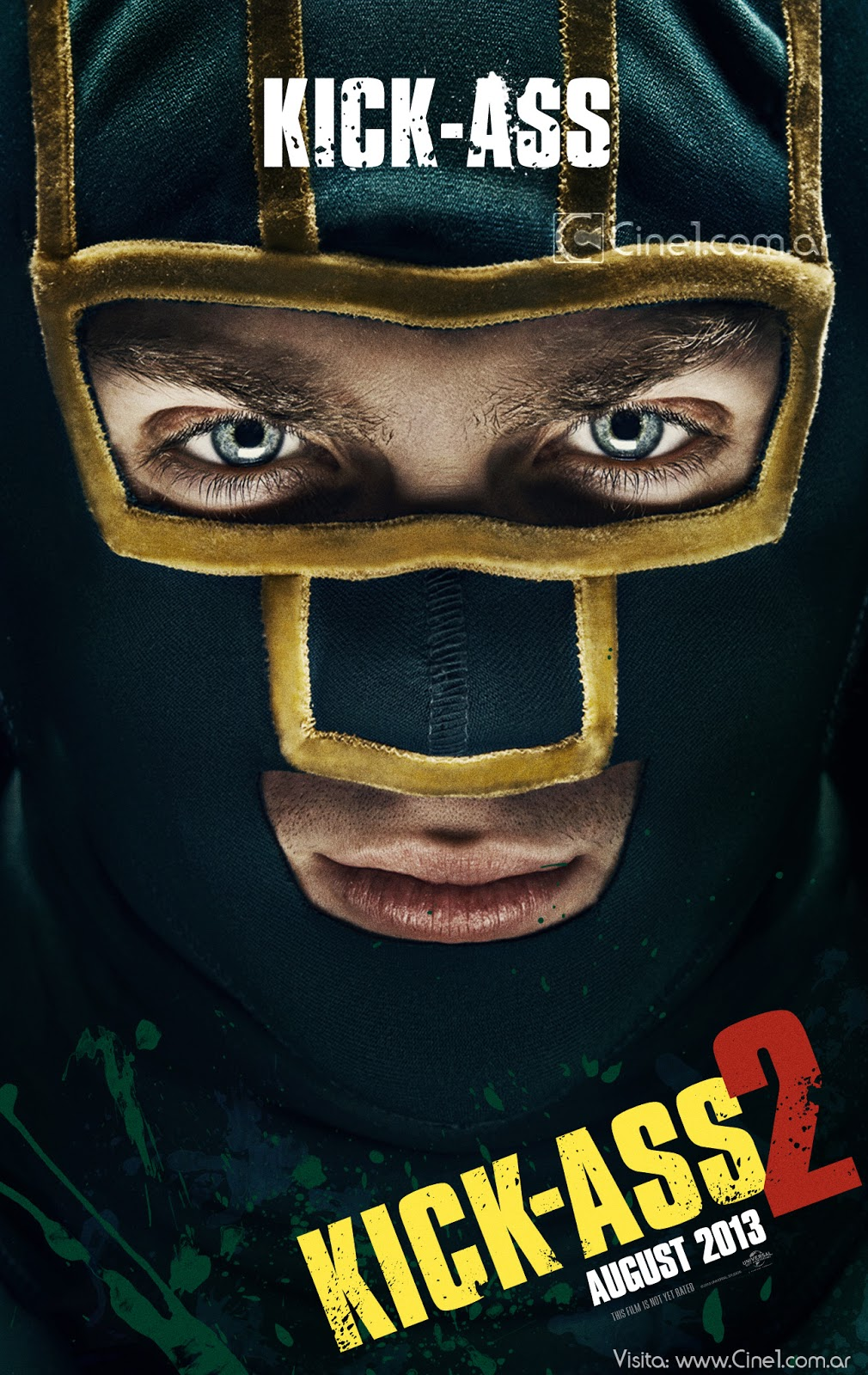 Kick Ass 2 Character Poster