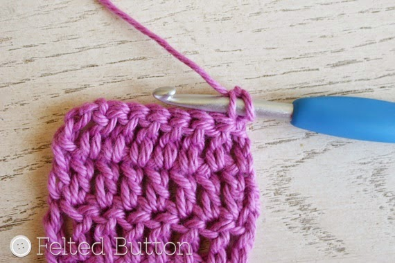 Crochet Stitches With Holes : ... Crochet Patterns: Mind the Gap--Avoiding the Turning Chain Hole