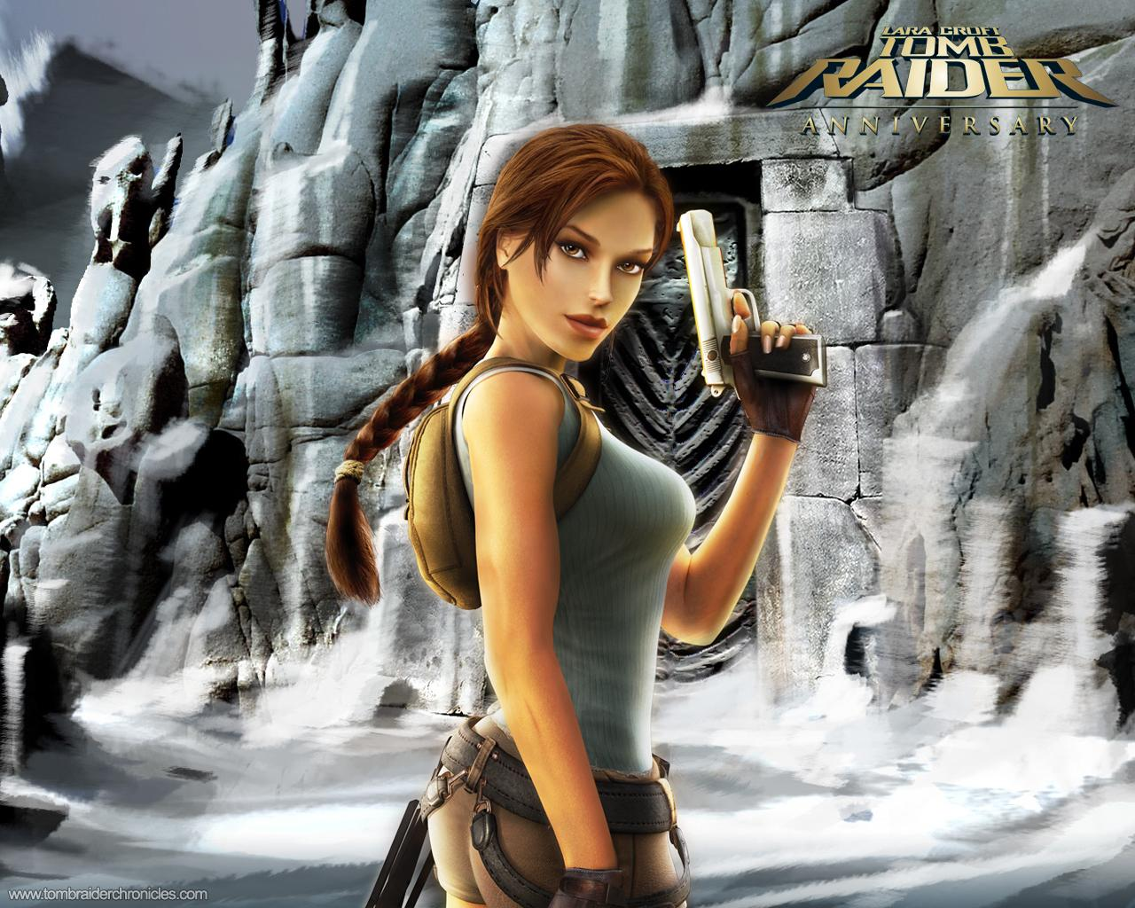 Hot Sexy Porn Alopo: Tomb Raider Anniversary Wllpapers
