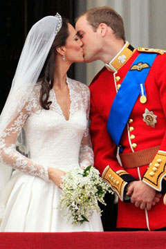 kate middleton prince william kiss