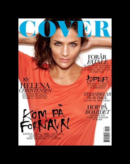 helenacover0 Cover Magazine May 2011 Cover | Helena Christensen by Rasmus Skousen