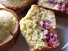 Raspberry Cornmeal Muffins