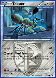 Durant Plasma Storm Pokemon Card
