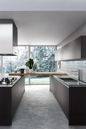 Cuisine en u for Poignee cuisine design