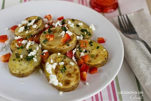 Ensalada De Patata Con Limón Y Orégano