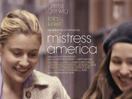 Tráiler de 'Mistress America', la nueva película de Noah Baumbach y Greta Gerwig