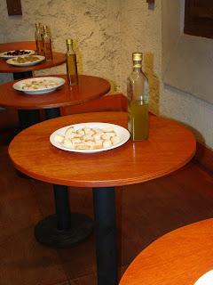 Degustacao de azeite de oliva