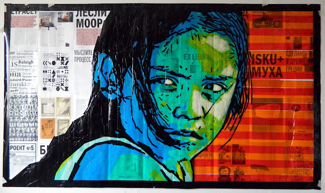 tapeart Kids series portraits / contemporary street style