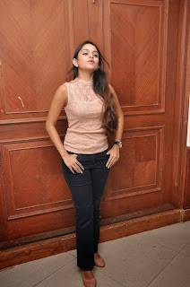 Actress Sheena Shahbadi Pictures in Jeans at Nuvve Na Bangaram Telugu Movie First Look Launch  0038.jpg