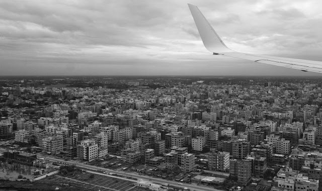 Bird's eye view of Dhaka | Panasonic G1