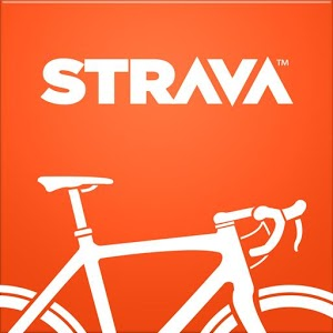 Strava is running as well as Cycling App