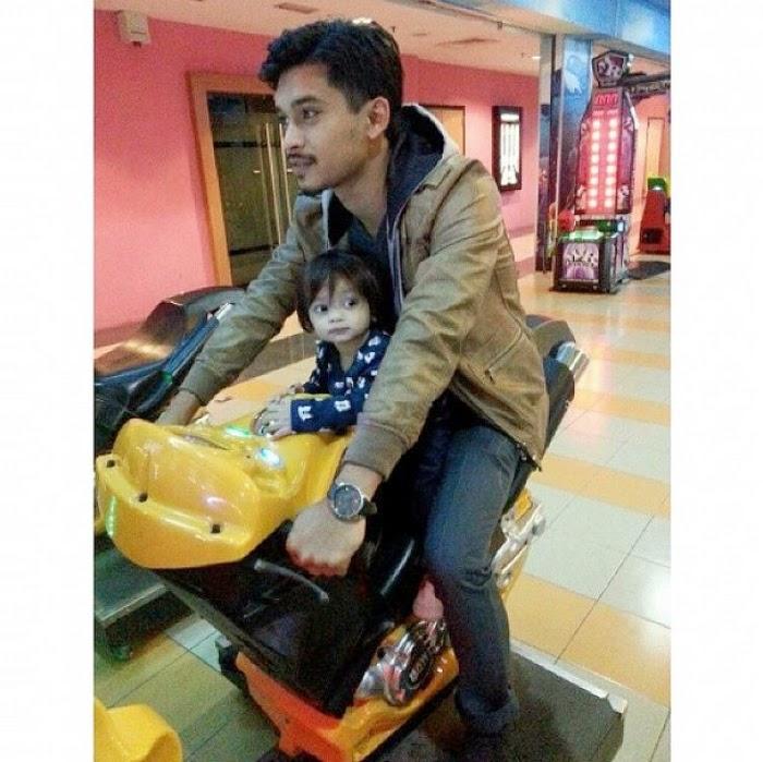 Ahmad Fahkharuddin Attar 'Anak Bapak' Aeril Zafrel, info, terkini, hiburan, foto attar anak aeril dan wawa, aeril zafrel, wawa zainal