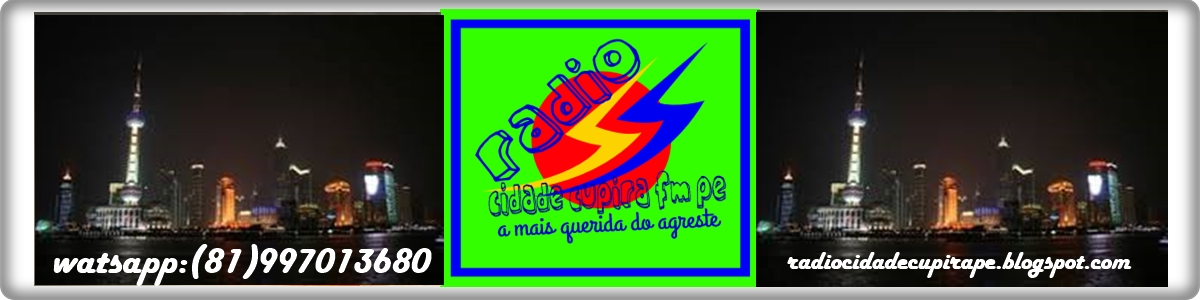 RADIO CIDADE CUPIRA PE