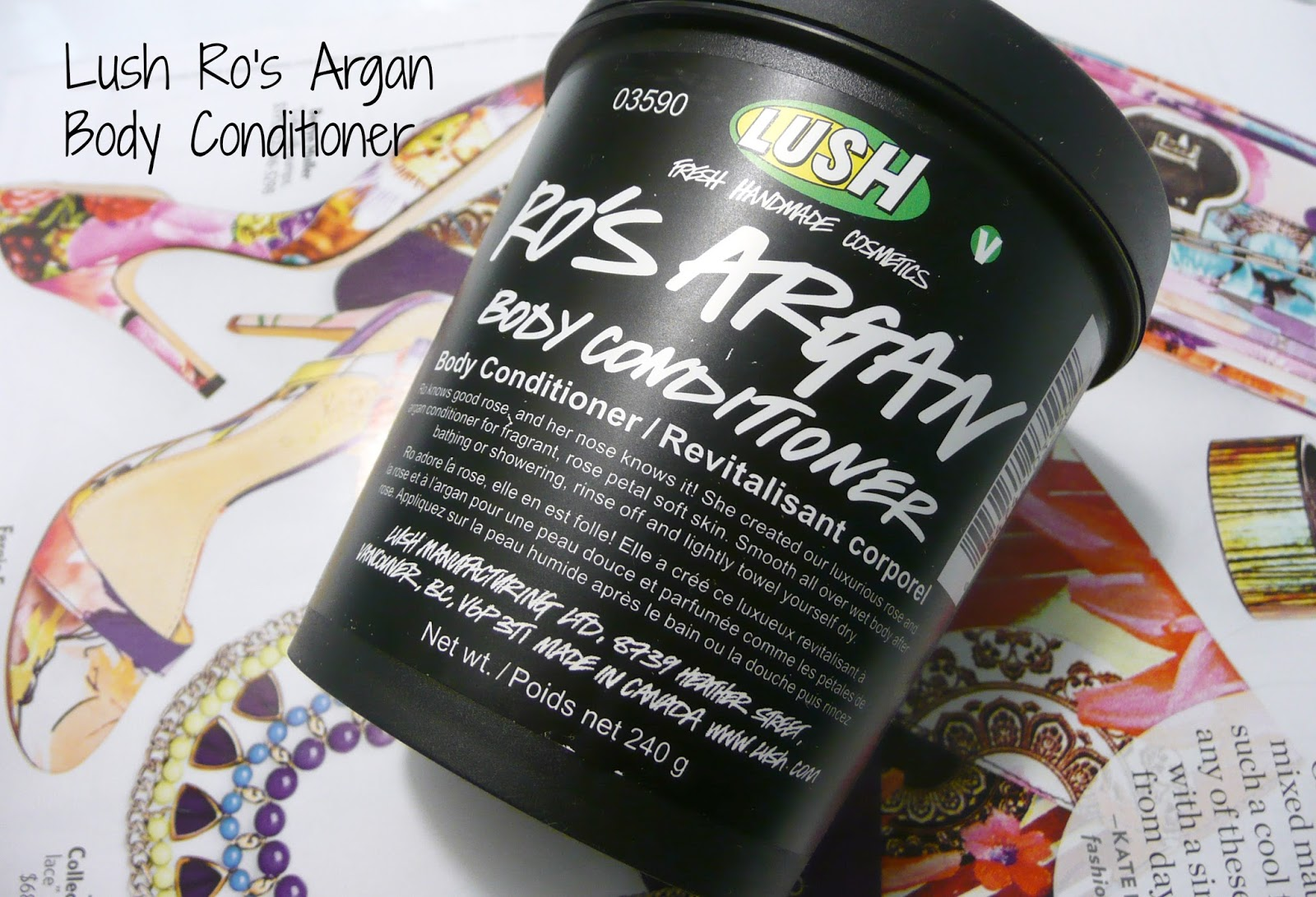 Lush Ro's Argan Body Conditioner Review