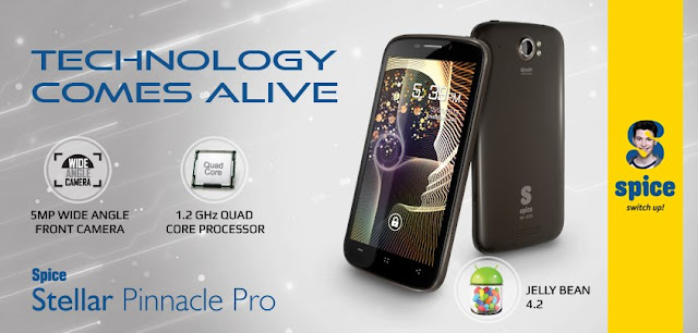 Spice Mi-535 Stellar Pinnacle Pro Price in India and Specs