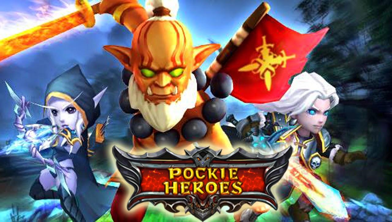 Pockie Heroes Gameplay IOS / Android