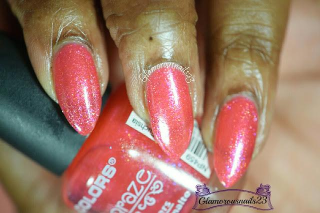L.A. Colors Sparkling Fuchsia