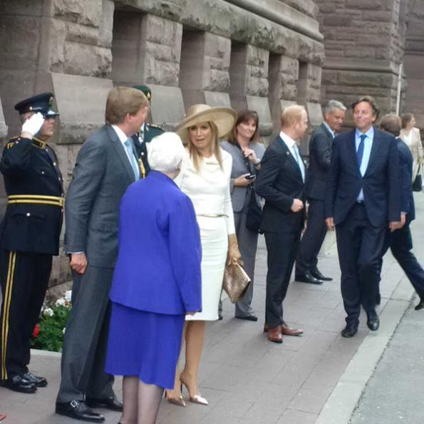 King and Queen met with by Ontario Lieutenant Governor.