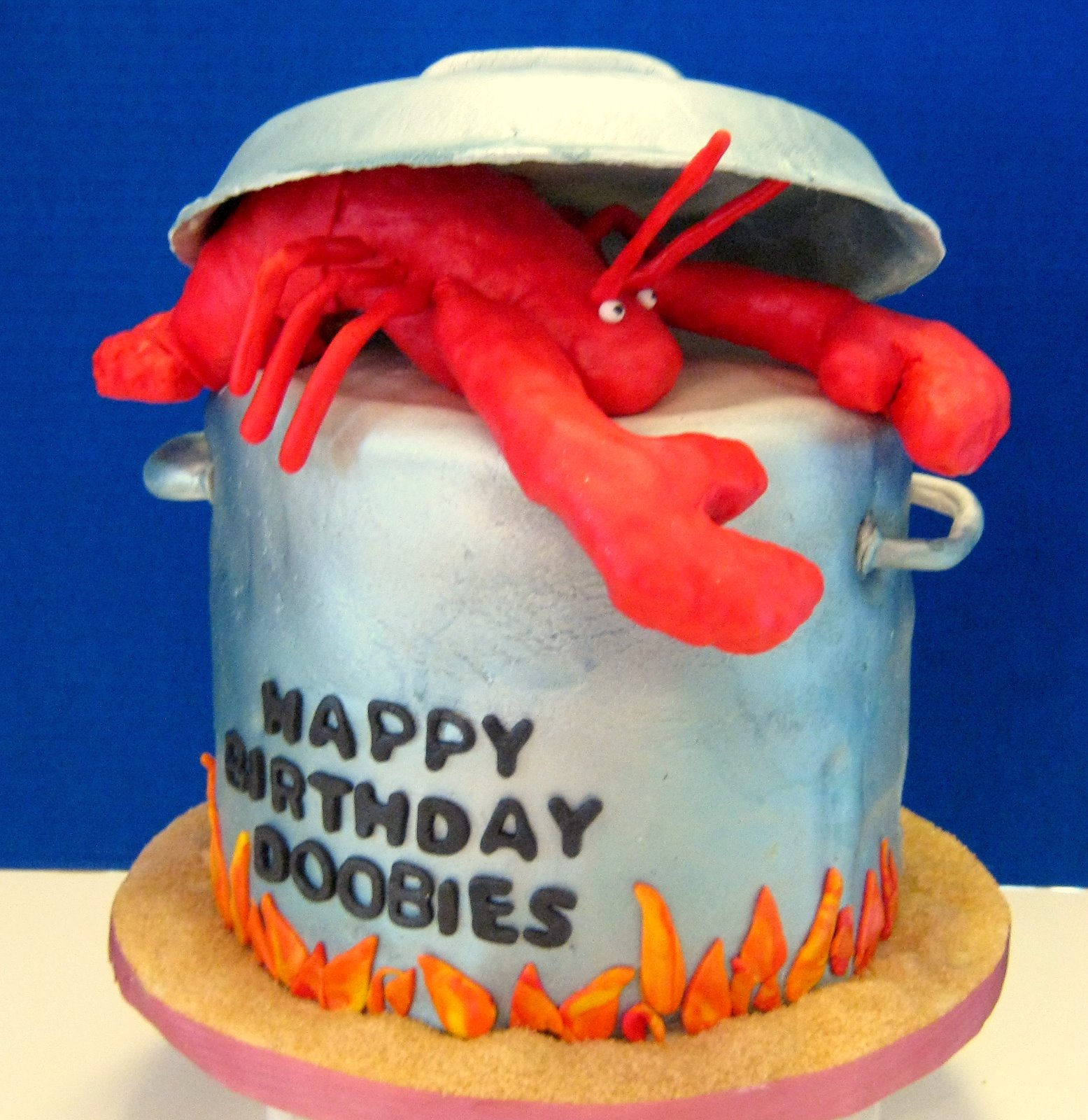 Dream Cakes Of Raleigh Lobster Birthday Cake