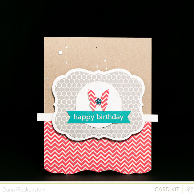 Handmade Birthday Card using the Studio Calico Block Party Kit by pixnglue