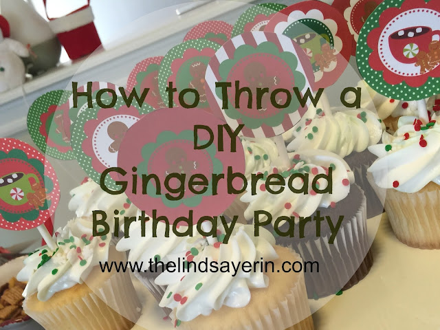 diy gingerbread man birthday party