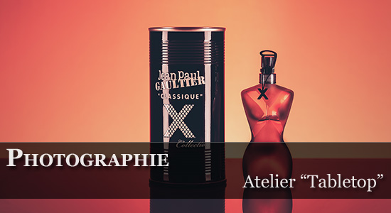 Synoptic Productions > Atelier photographie Tabletop