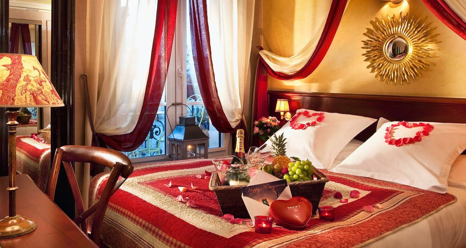 Bedroom ideas romantic setup organize your home How to make bedroom romantic