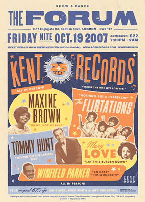 Kent 25th Anniversary Soul Revue poster