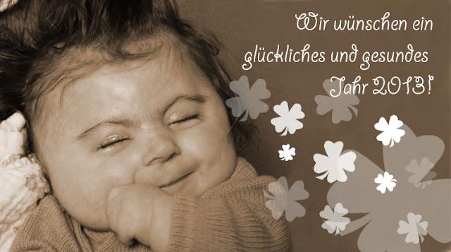 Wir wünschen ein glückliches und gesundes Jahr 2012!
