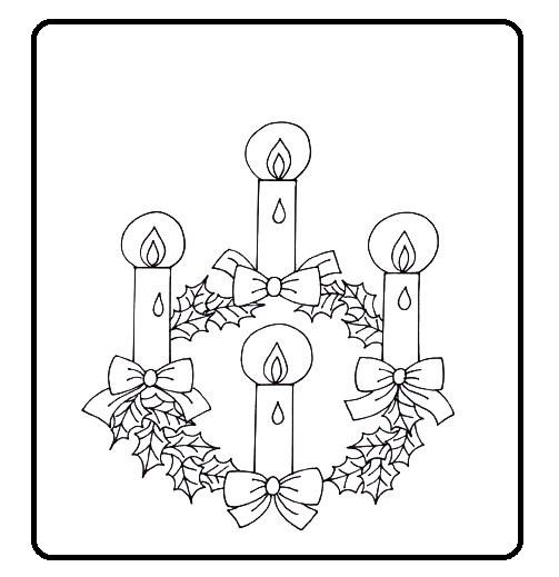 MATERIALES DE RELIGIÓN CATÓLICA: CORONA DE ADVIENTO