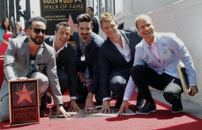 Backstreet Boys Y Su Estrella Parejas Disparejas
