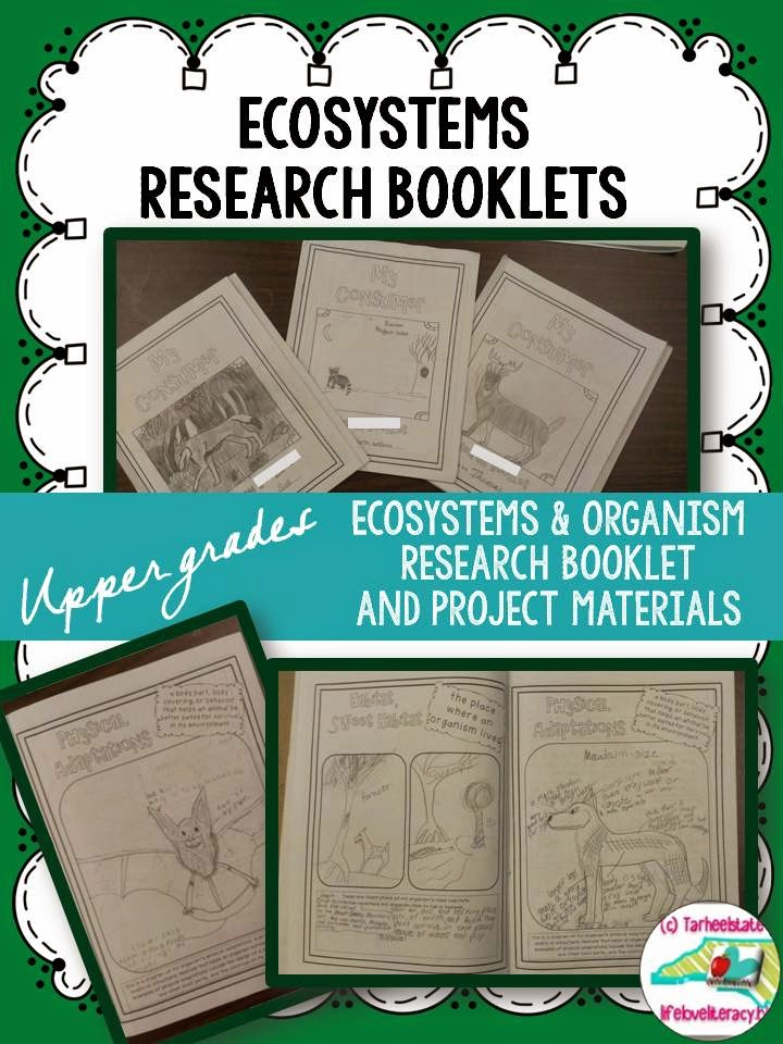 Life, Love, Literacy: Ecosystems & Animal Research Booklets