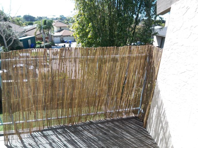 Bamboo Roll Fencing Bamboo Valance Photo