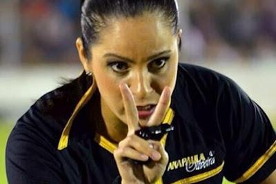 Ana Paula Oliveira Wasit Wanita Tercantik