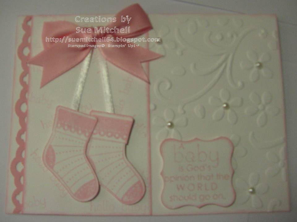Stampin up new product quot sneak peek quot baby boy amp baby girl card ideas