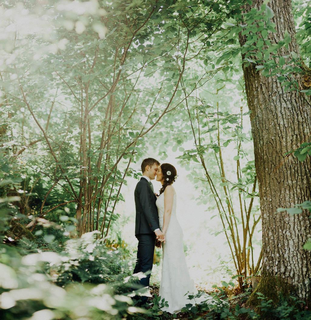 Bohemsk bröllopsfotografering i Stockholm