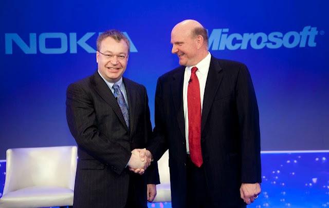 Microsoft rachète la division mobile de Nokia