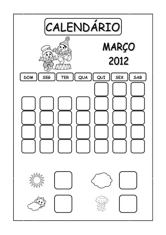 Calendario Turma Da Monica Maro2013 Para Imprimir - Template PSD