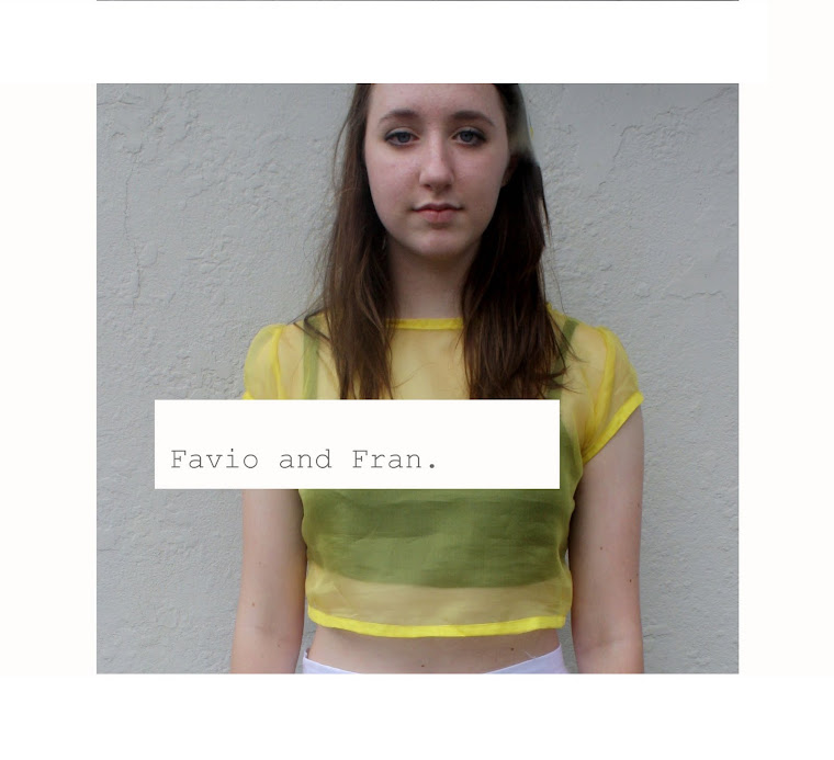 FAVIO AND FRAN.