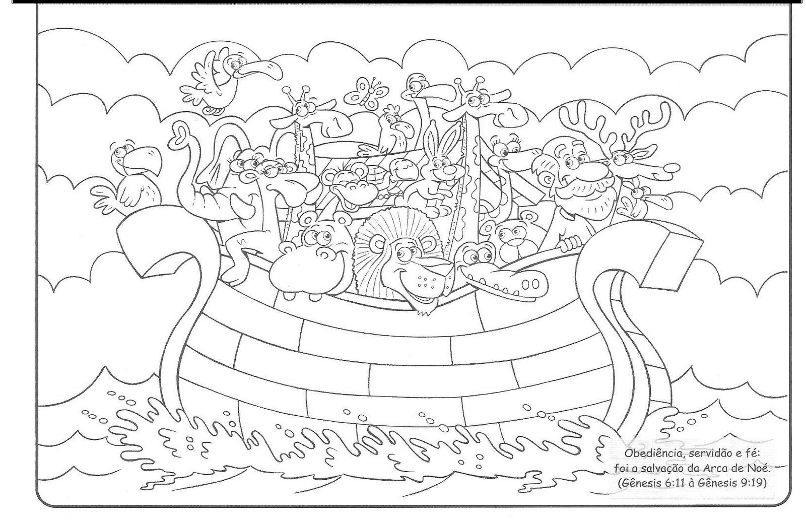 Baú de Recursos para o Ministério Infantil: Arca de Noé