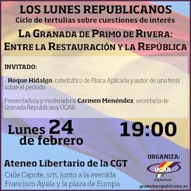 La Granada de Primo de Rivera, entre la Restauración y la República