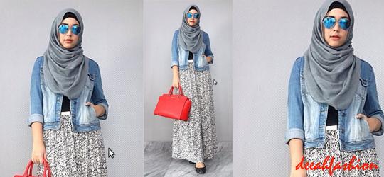 Cara Cepat Tampil Modis Dengan Jilbab Tips Fashion