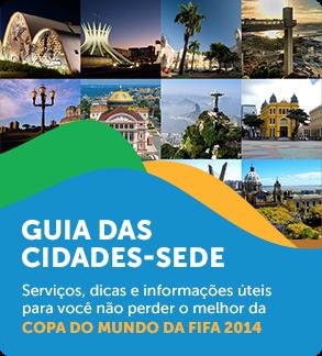 GUIA DAS CIDADES-SEDE