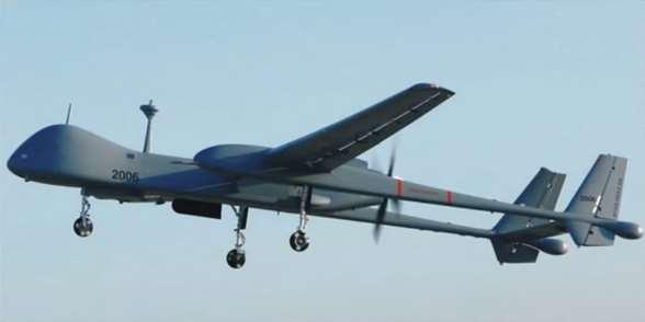 Gambar pesawat tanpa awak (Drone) Heron Eitan Drone paling mematikan milik Israel.