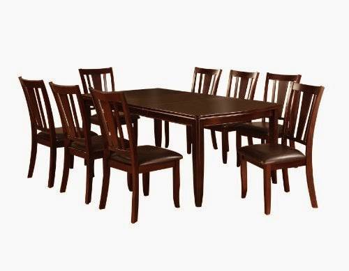 furniture of america frederick 9piece dining