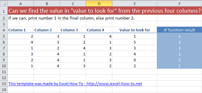 Nested if functions in Excel tutorial