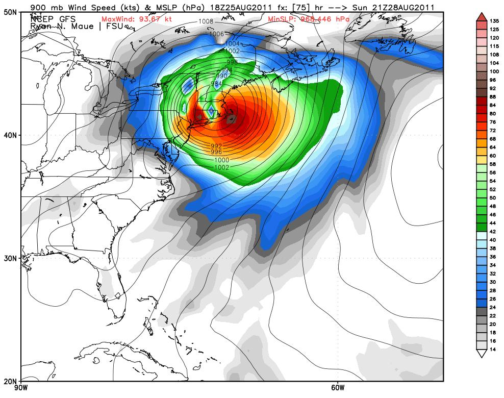 boston weather forecast hurricane irene