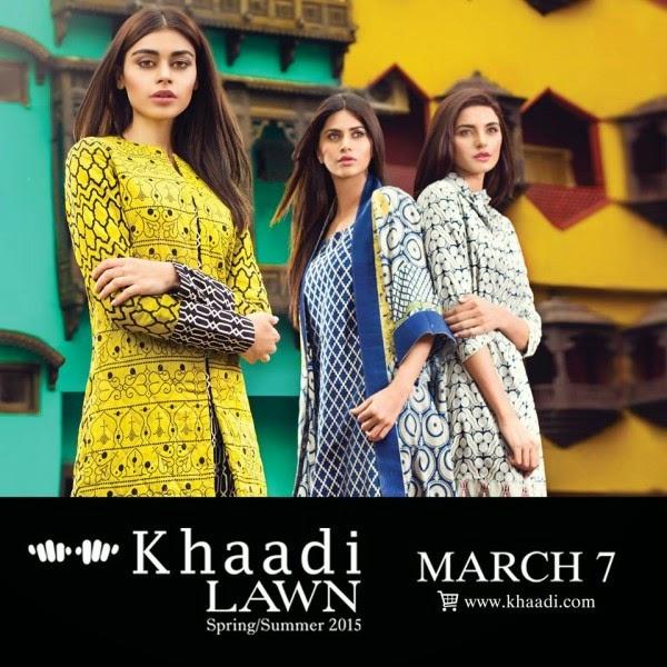 New Khaadi Spring Formal Wear Dresses 2015