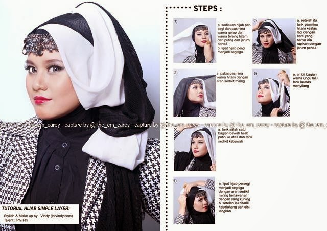 Ini Vindy Yang Ajaib: Tutorial Hijab Untuk ke Pesta atau Kondangan