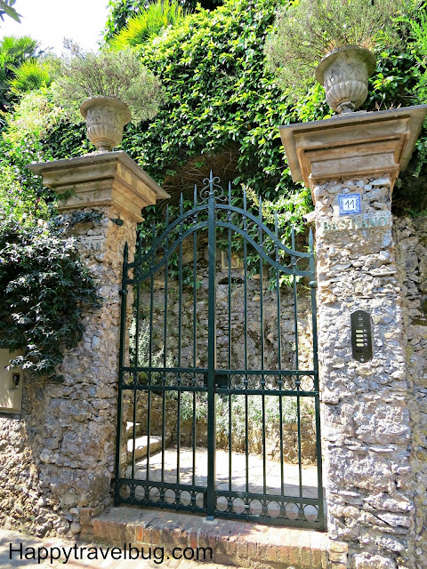 Entry gate to an Italian Villa
